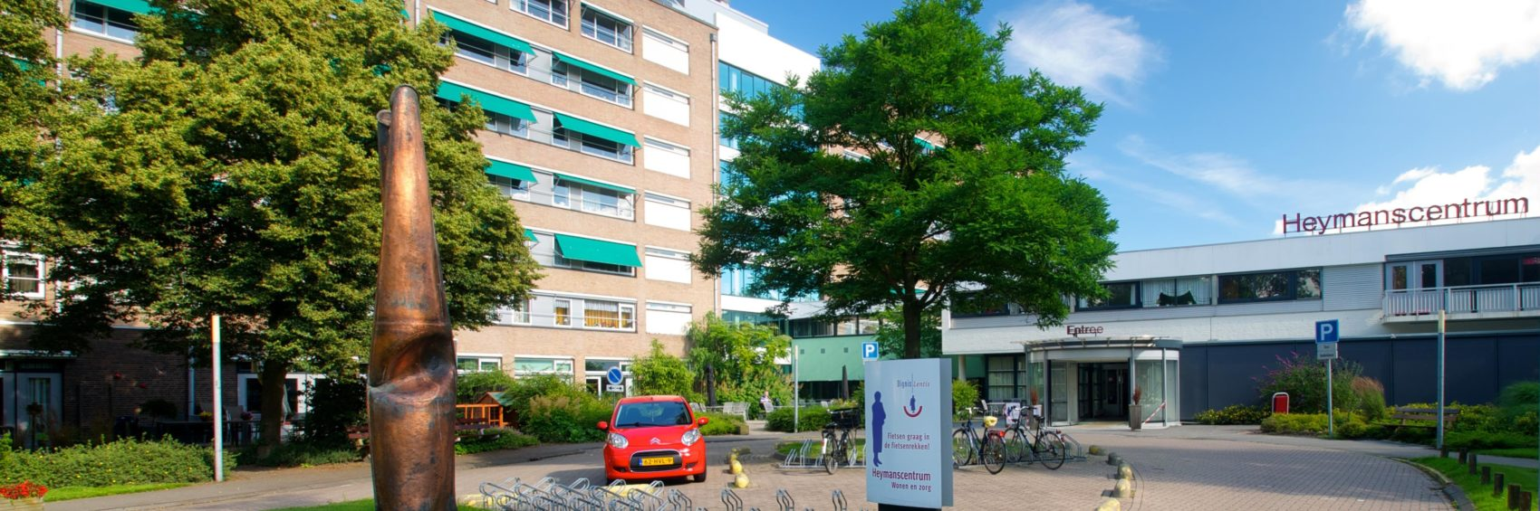 Heymanscentrum in Groningen, volledig afgekocht