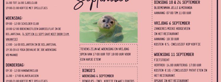 Gabriël: kalender september