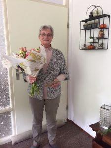 Roelie werkt al 25 jaar als vrijwilliger bij Dignis.